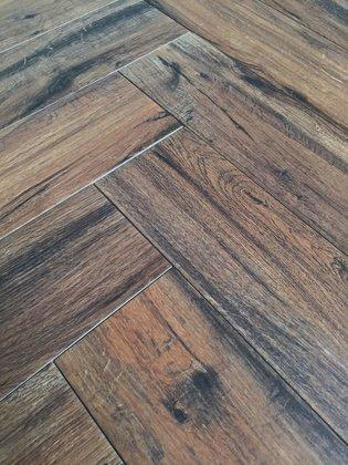 Visgraat Real Wood Castagno  15x60 cm