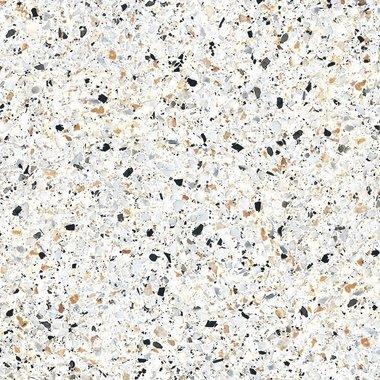Terrazzo Graniglia Bianco  25x25 cm