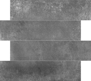 Limburg Antraciet 15x60 cm gerectificeerd