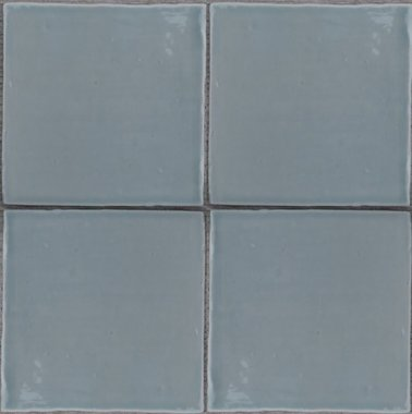 Oud Hollandse Witjes Bahia blauw 13x13 cm
