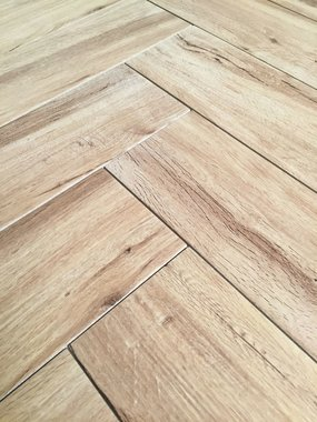Visgraat Real Wood Nocciolo 15x60 cm