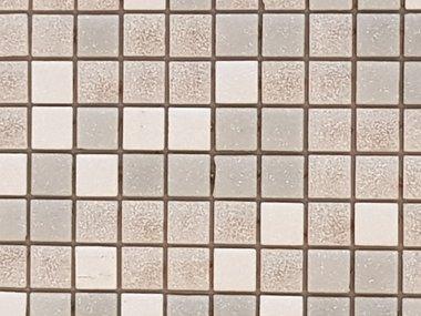 Glas Mozaik Wit Grijs Mix voor vloer en wand