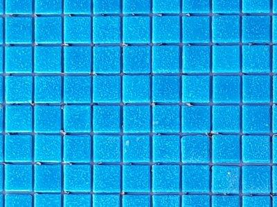 Glas Mozaik Licht blauw